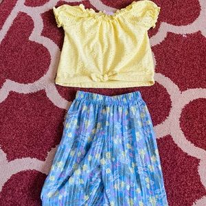 Boho Toddler Outfit 12M